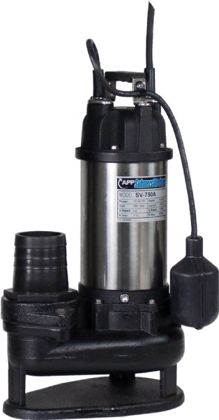 SV-750A Automatic Submersible Drainage & Sewage Pump 110V